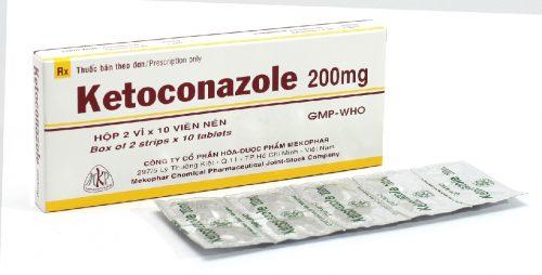 thuốc uống kháng nấm